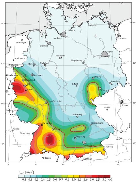 Erdbebenzonen DE (neu)